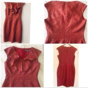 Classques-entier Sleeveless Ruffle Dress Size 2